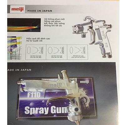 Súng phun sơn hiệu Meiji, súng phun sơn nhật bản