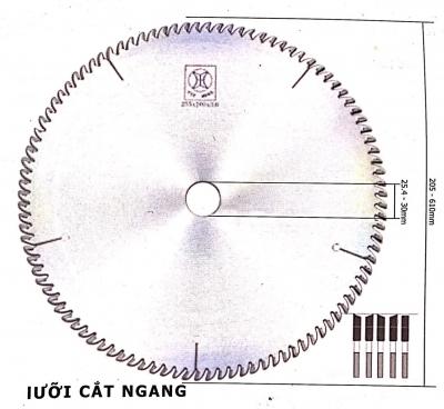 Lưỡi cưa đĩa hợp kim 355 - hiệu Yue Hong